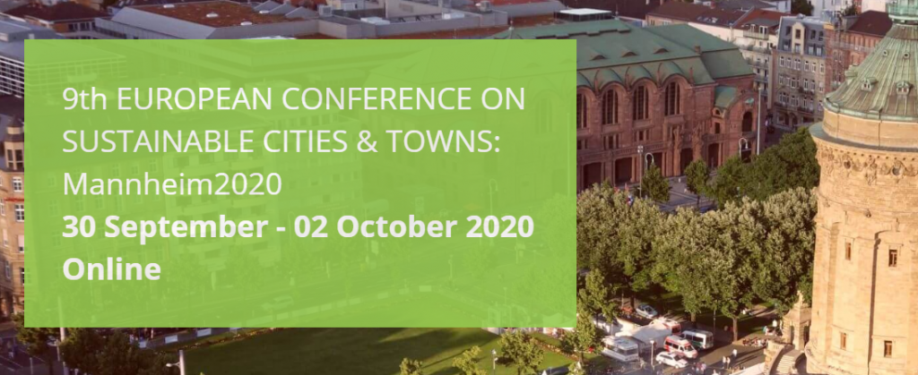 9th European Conference on Sustainable Cities & Towns