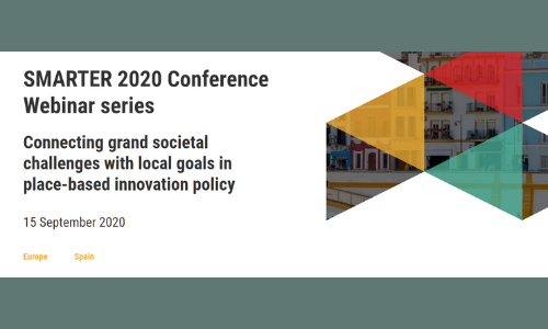 Connecting grand societal challenges with local goals in place-based innovation policy