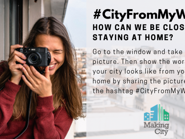 Celebrating Solidarity across EU Cities with #CityFromMyWindow