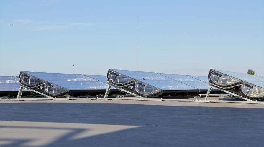 South Groningen - thermal solar panels