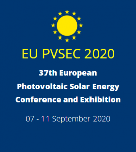 37th European PV Solar Energy Conference and Exhibition