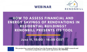 Webinar: How to assess financial and energy savings of renovations in residential buildings?