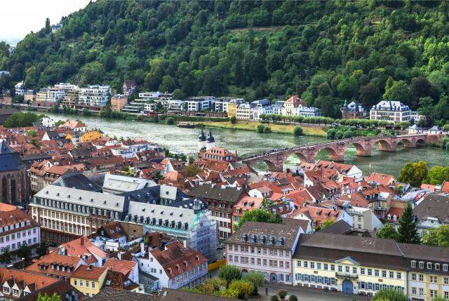 Germany travel and landmarks, Heidelberg town
